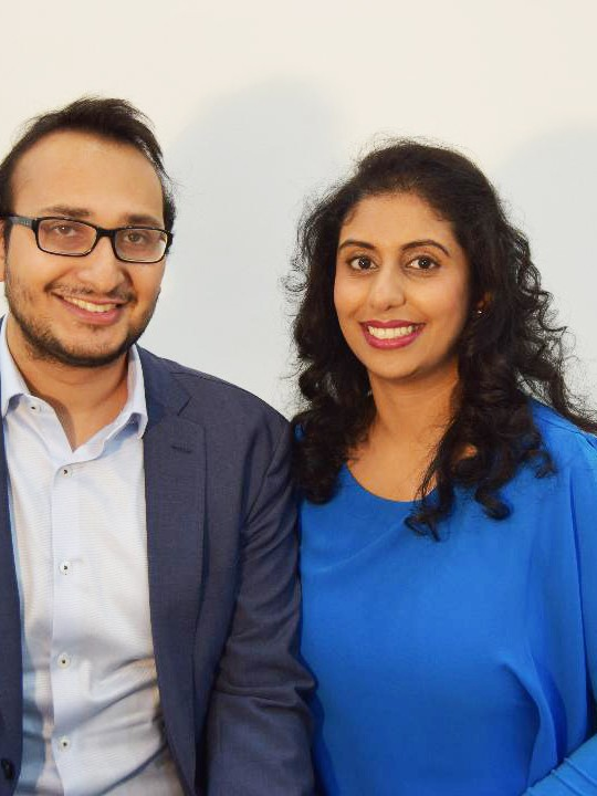 Dr Aman Sharma and Dr Riya Verma at our professional, welcoming hair clinic