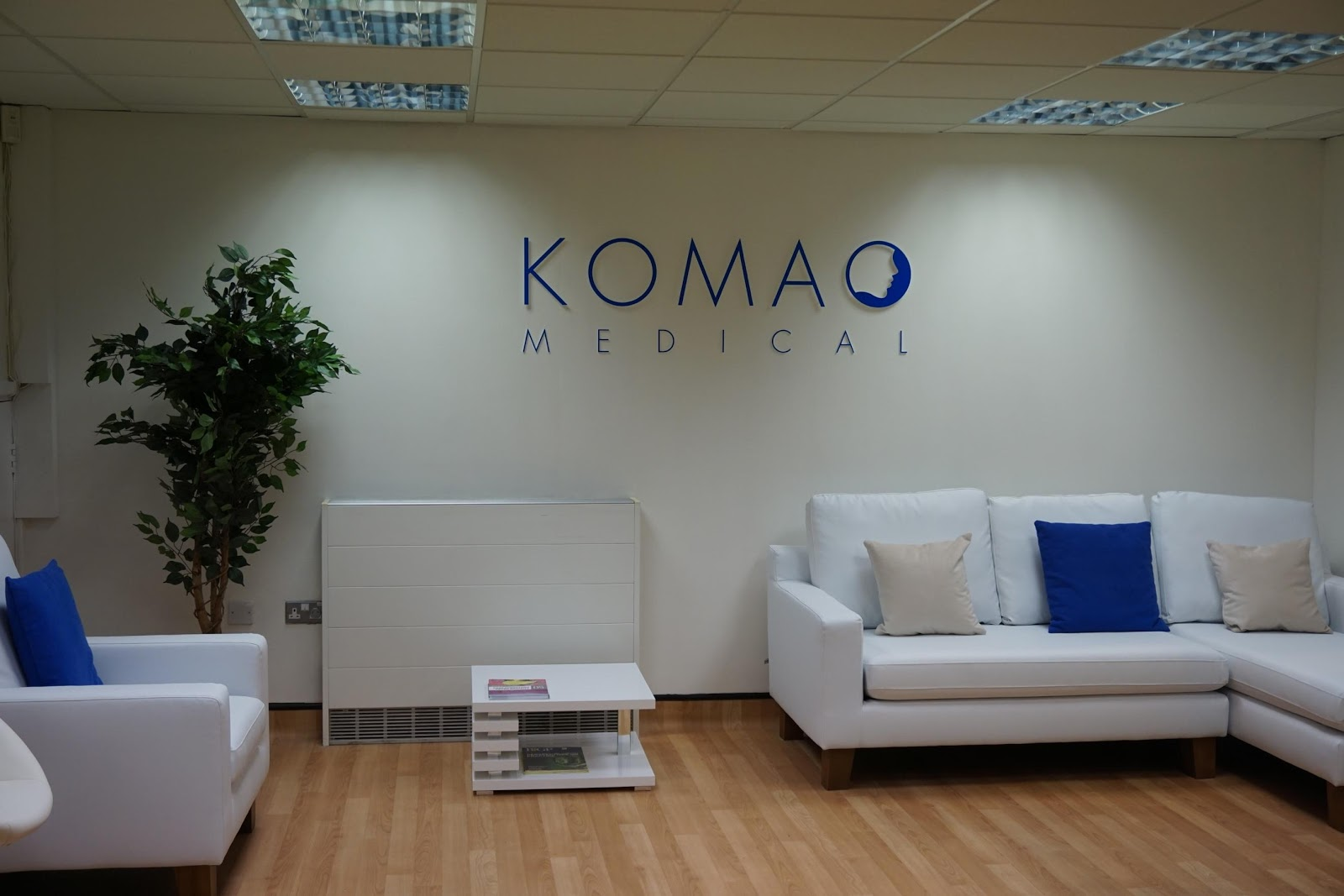 Komao medical hair clinic front lobby